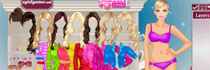 Shopping Barbie Dress Up
