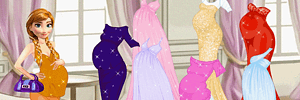 Pregnant Princesses Fashion